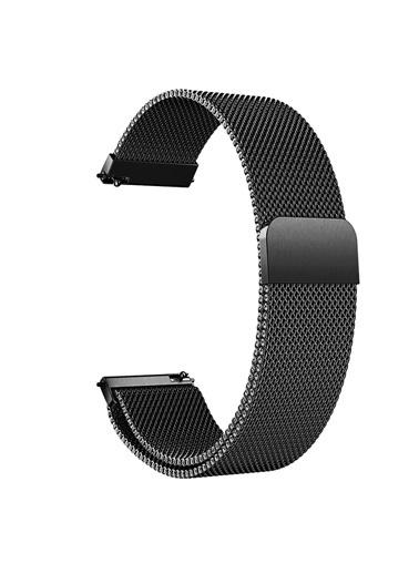 Microsonic Huawei Watch Gt2 Pro Milanese Loop Kordon Gold Siyah